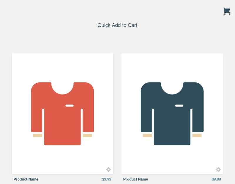 html5响应式列表商品点击加入购物车代码