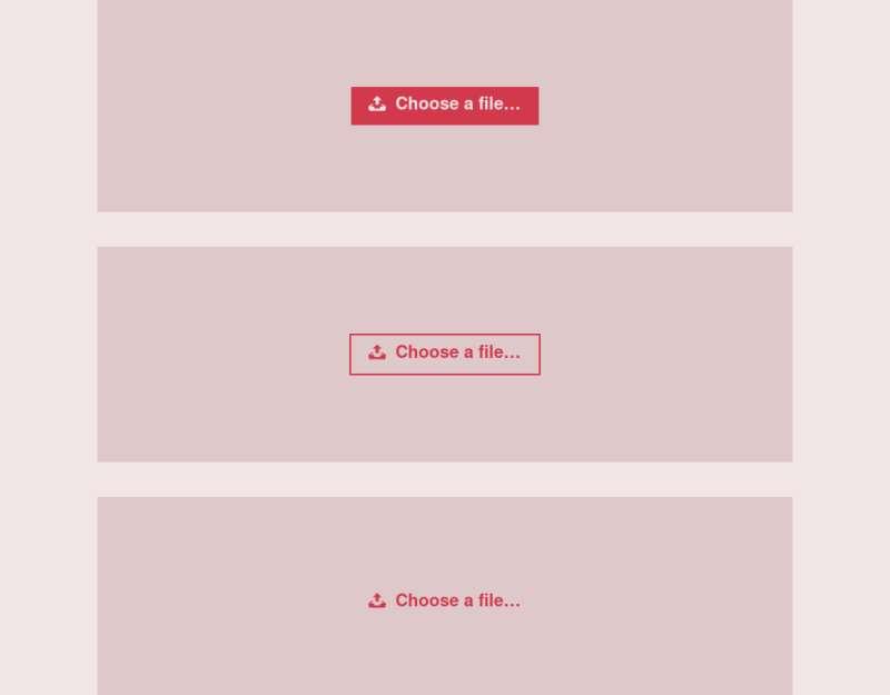 html5自定义表单上传文件输入框样式代码