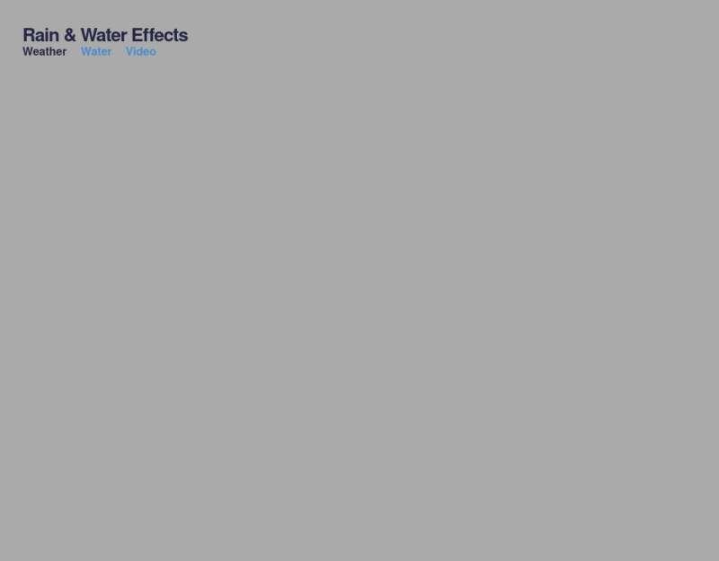html5仿手机天气预报app界面特效