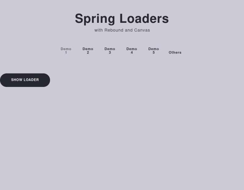html5 canvas酷炫的页面预加载动画图标代码