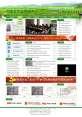 绿色的农业信息网站模板psd分层素材下载