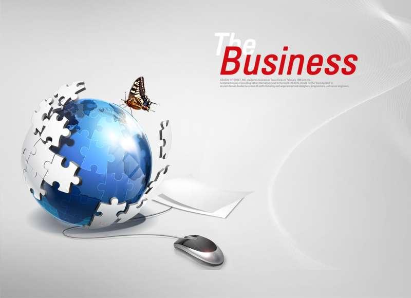 商务企业网站banner_互联科技网站banner_网络销售广告banner设计