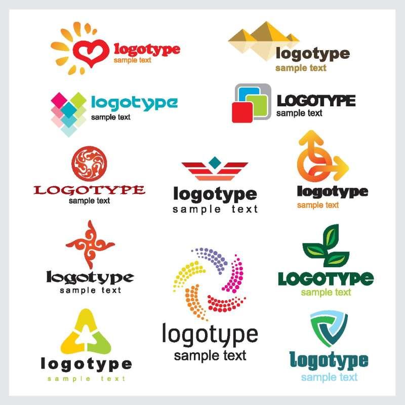 精美国外LOGO标志模板AI矢量素材下载