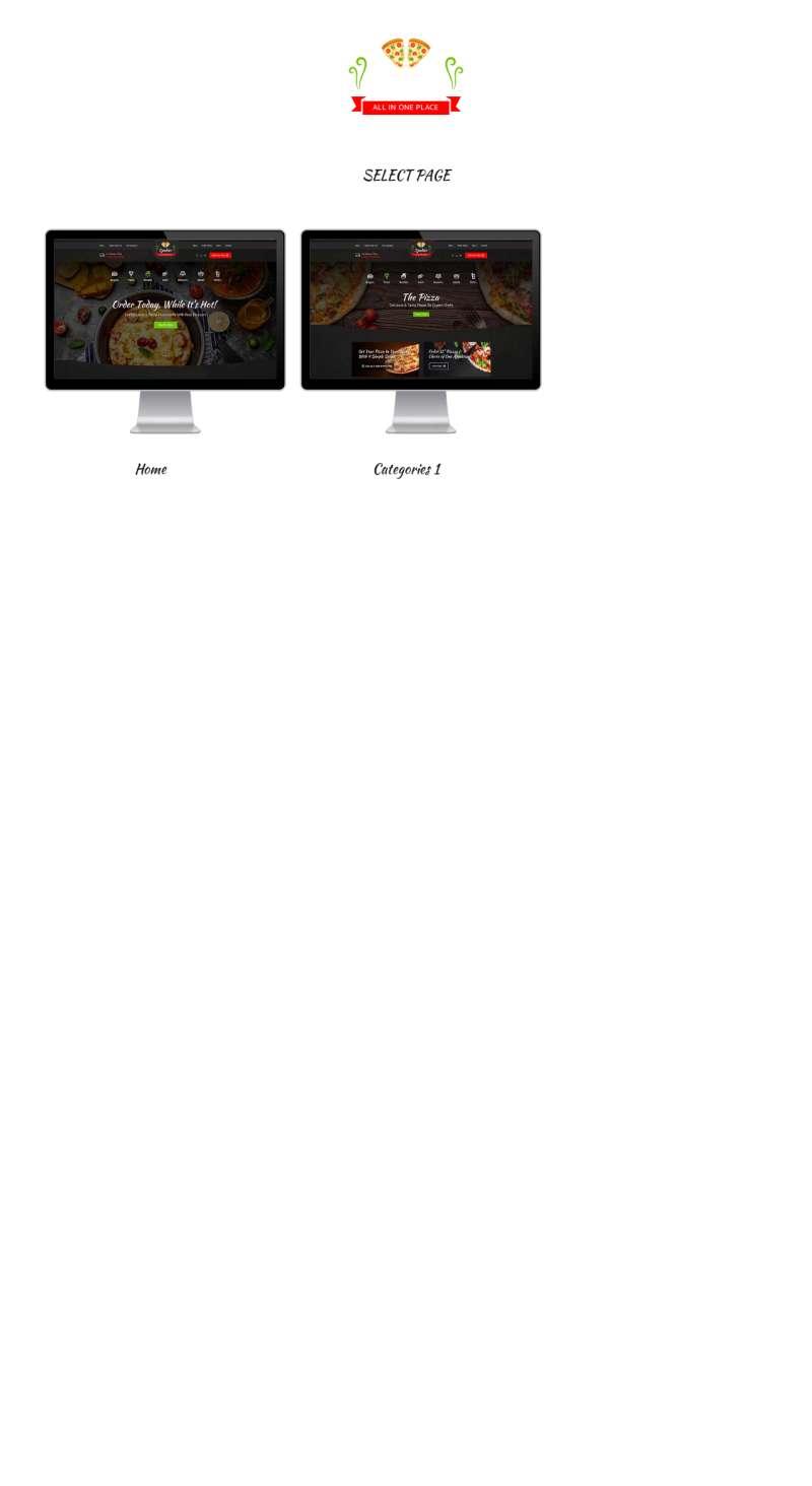 快餐美食预订官网html模板