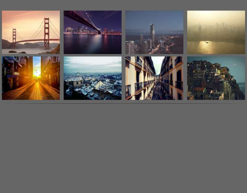 baguettebox.js图片插件制作点击相册图片全屏幻灯片预览代码