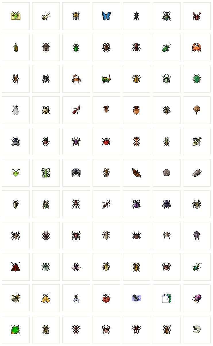 动物图标素材_小动物图标素材_动物昆虫图标ICO素材下载
