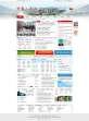 门户型的政府网站页面设计PSD模板下载