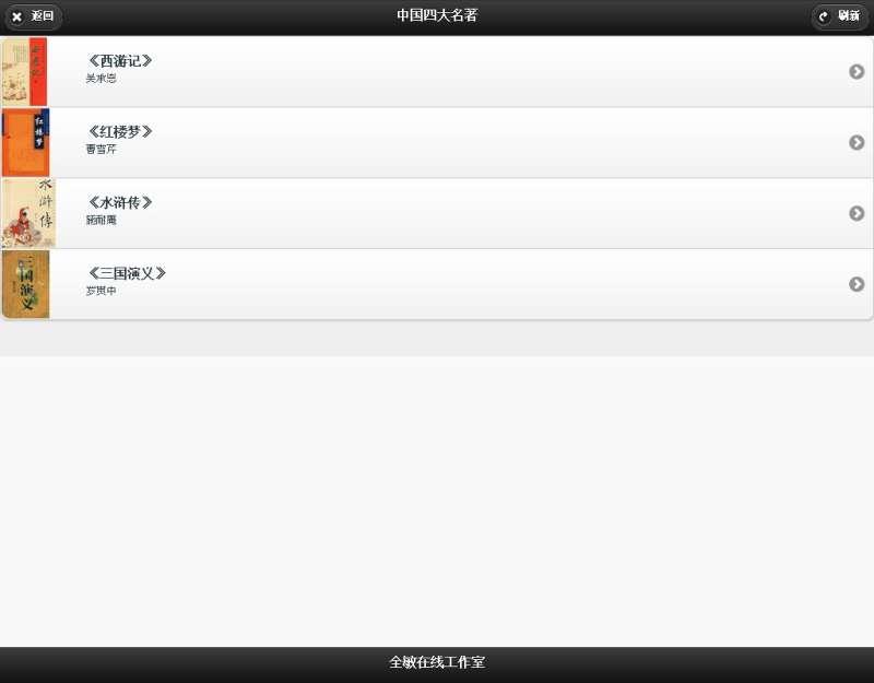 jquery.mobile.js小说网站html5响应式手机网站模板源码下载