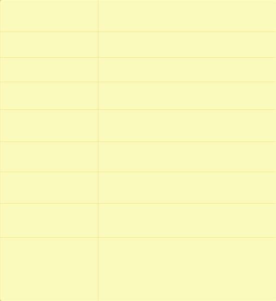 黄色简洁的个人博客网站模板html源码下载