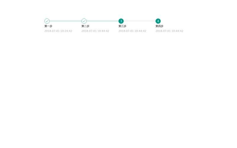 简单的layui步骤条实例