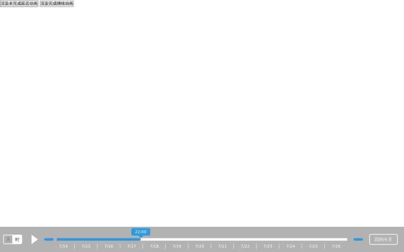 jQuery带日期的时间轴播放插件