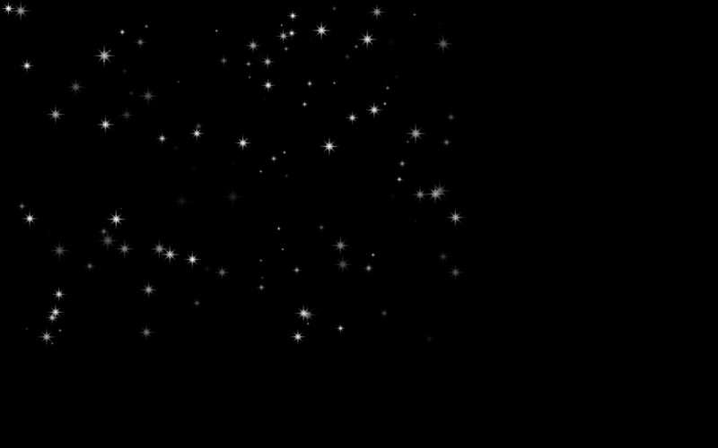 全屏闪烁星星元素动画特效