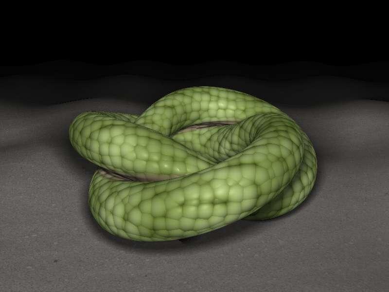 html5 canvas地上卷成一团蛇场景特效