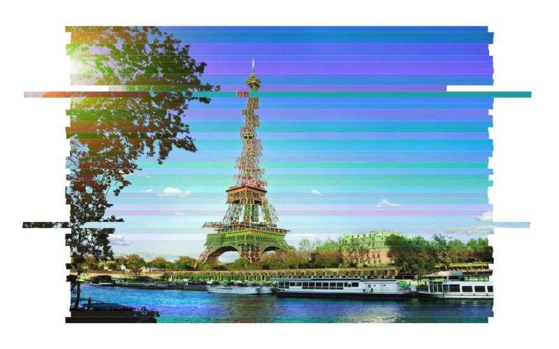 js css3图像画面故障效应