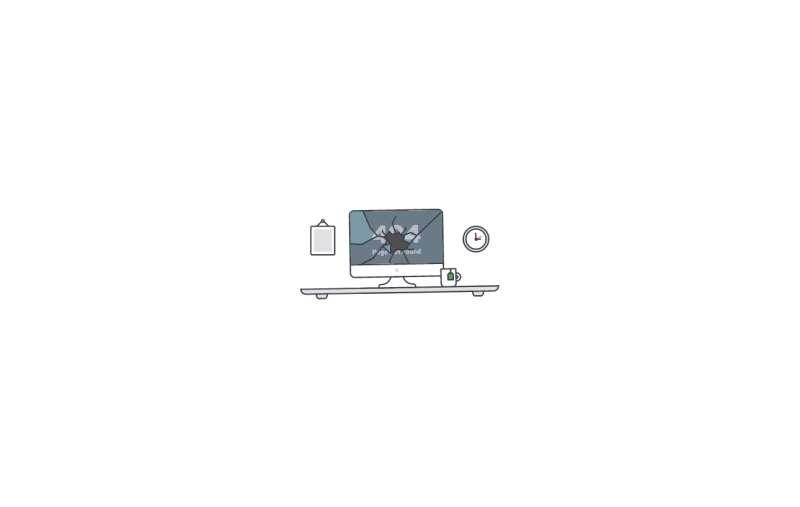 动态404桌面svg特效