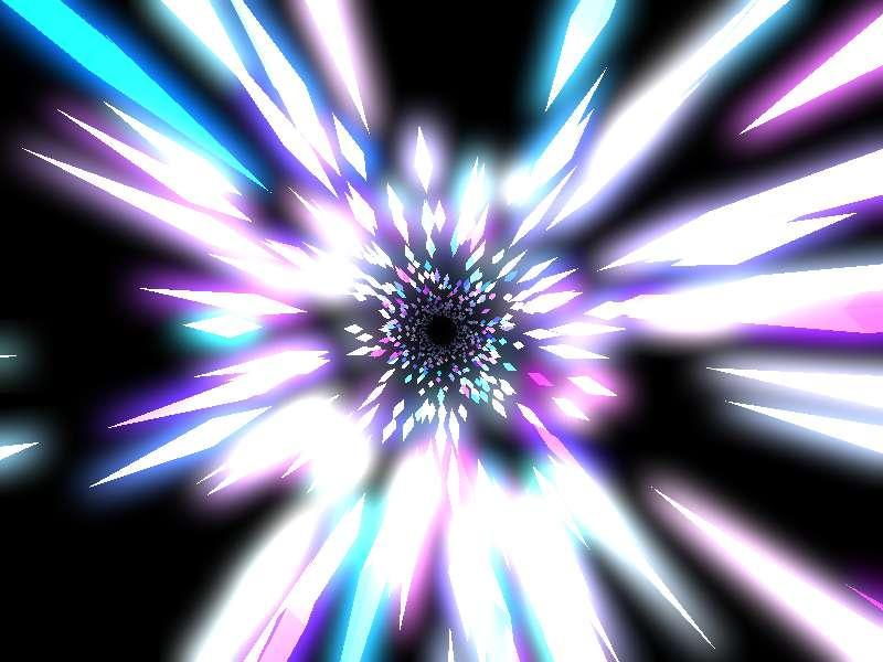 H5酷炫的时光隧道动画特效