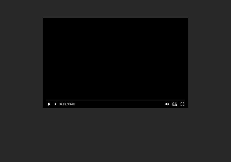 浮动窗口mp4视频播放器插件