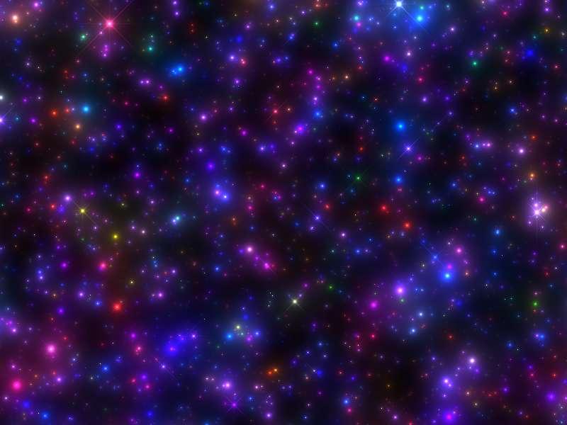 酷炫的星光闪耀canvas特效
