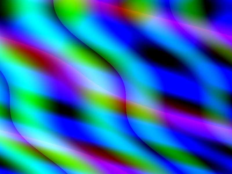 彩色的全息光影动画特效