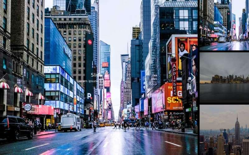 Swiper響應式縮略圖片幻燈片切換特效
