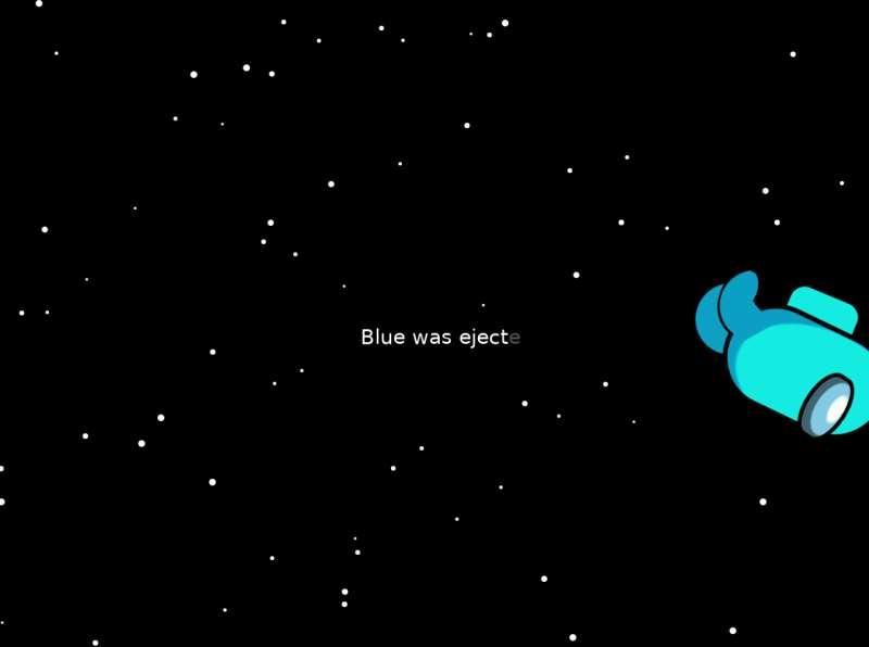 太空圆点移动背景动画特效
