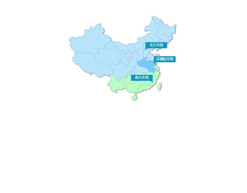 jquery鼠标悬停中国地图网络销售网点提示信息