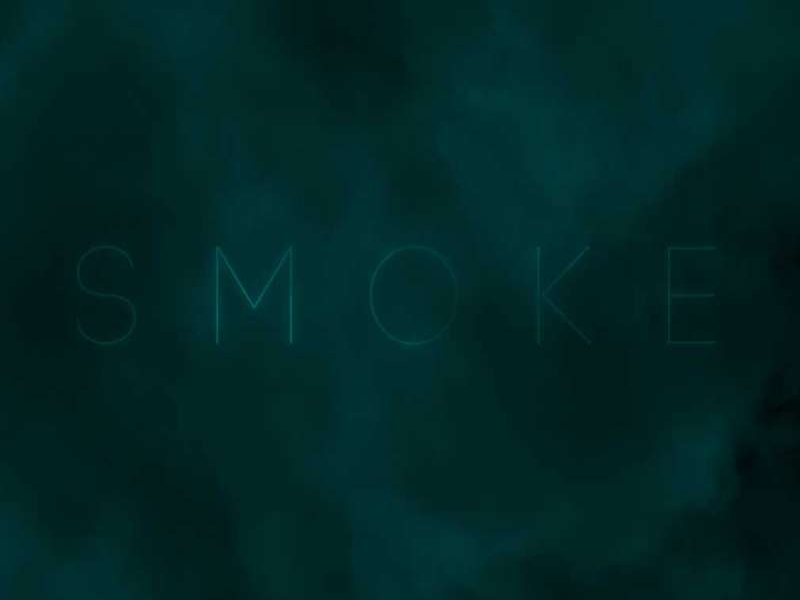 Three基于webgl绘制烟雾文字背景动画特效