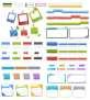 精致可爱的网页ui界面设计元素psd下载