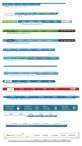韩国网页风格的导航条psd素材下载
