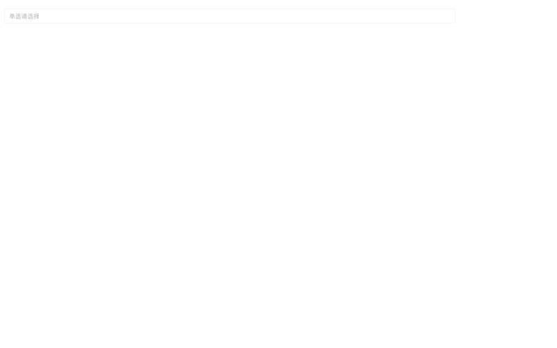 jQuery移动端弹窗单选多选菜单