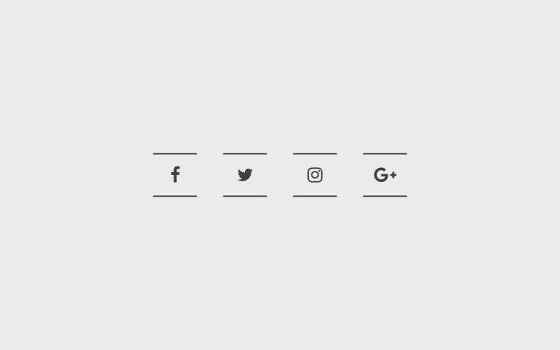 css3分享按钮线框动画