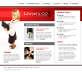 简单的国外信息咨询公司首页网站模板html下载