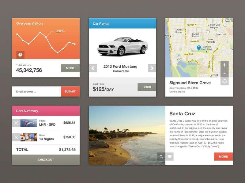 iphone ui手机地图旅游app应用ui界面设计下载