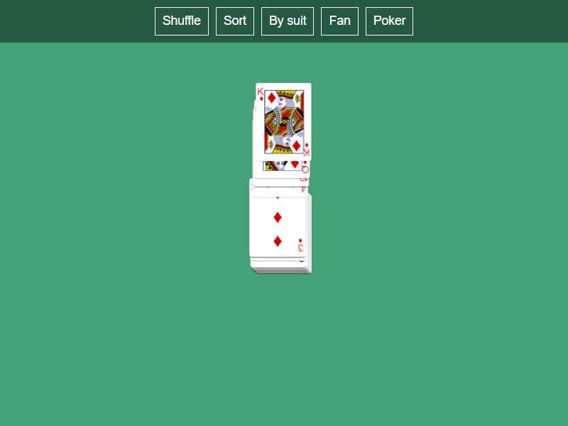 魔术扑克牌ui动画特效