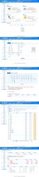 蓝色的学员管理系统后台个人中心界面模板html整站下载