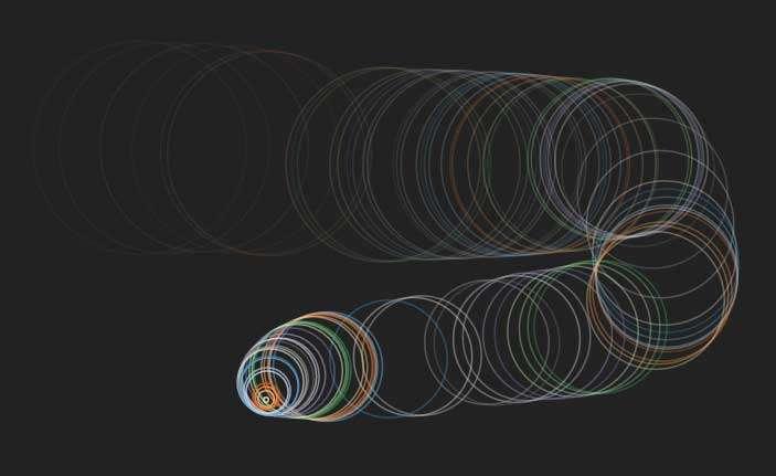 炫丽的html5鼠标移动svg圆圈光标动画特效