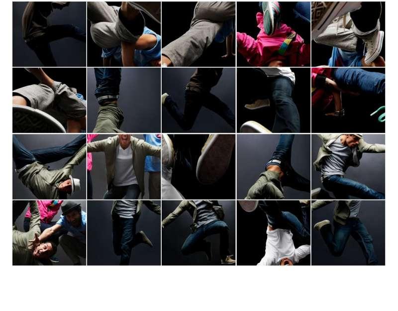 jquery grid Accordion网格手风琴插件多张图片拼接的网状手风琴特效
