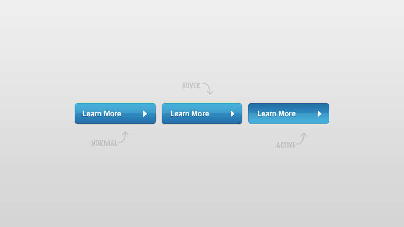 蓝色的查看更多按钮_蓝色的more按钮psd分层素材下载