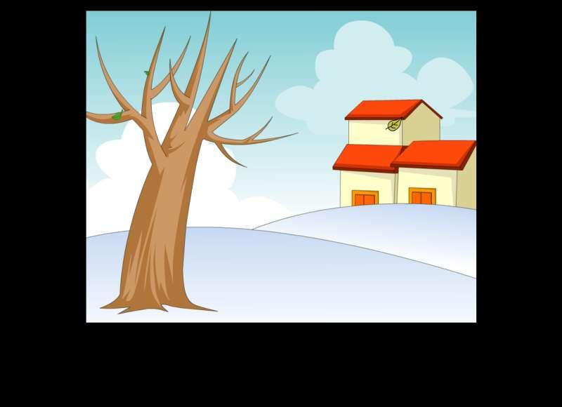 风雨雷电天气flash动画素材