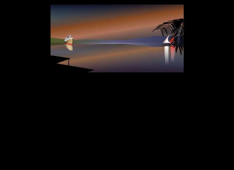 海上行驶的轮船flash动画素材