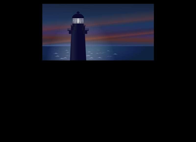 海上灯塔flash动画下载