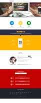 大气的法内网律师网站模板设计psd下载