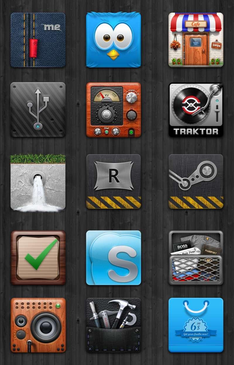15个手机图标ui图标素材下载