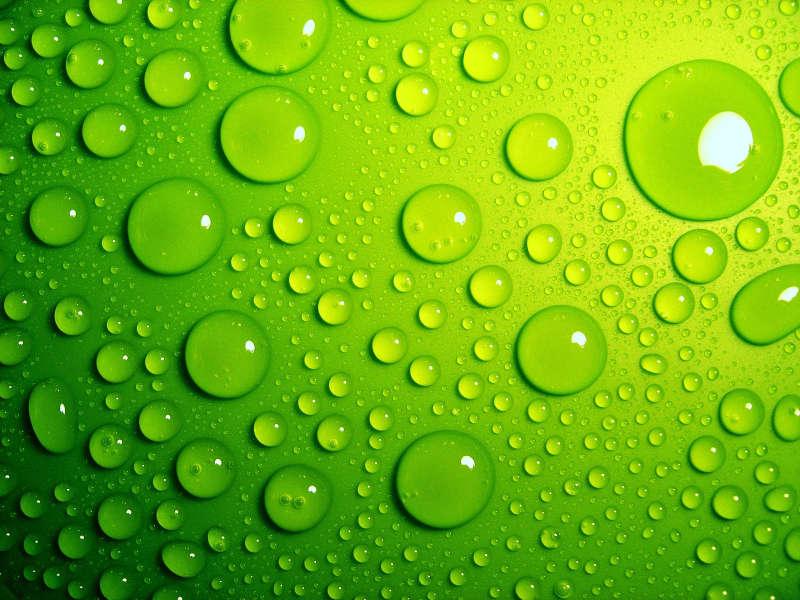 绿色高清的雨点图片_绿色高清的水珠图片jpg下载