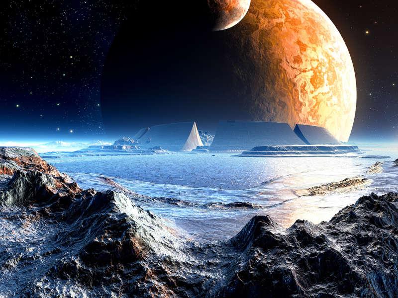 现代科技太空风景高清图片jpg下载