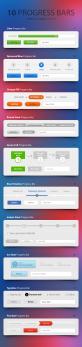 10款web2.0风格华丽的网页步骤进度条_表单步骤进度条psd素材下载