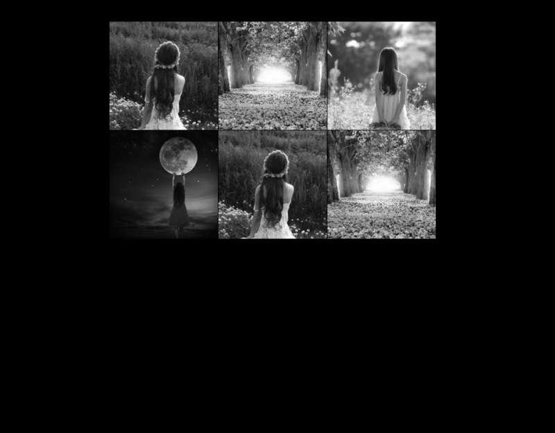 jQuery鼠标悬停图片变色放大显示效果