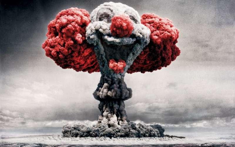 高清创意蘑菇云背景图片素材jpg下载