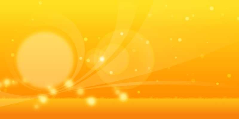 温暖光效果橙色阳光朦胧网页背景图片