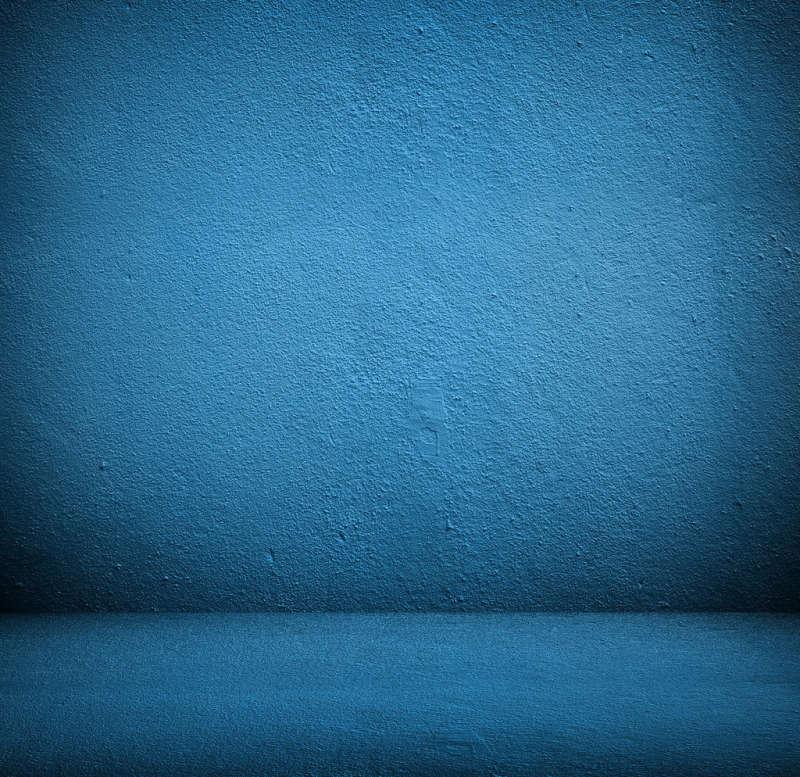 颗粒感阴影效果蓝色磨砂质感大气背景
